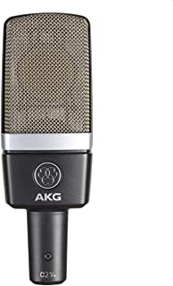 AKG Pro Audio C214 Professional Large-Diaphragm Condenser Microphone, Grey