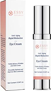 EssyNaturals.Anti-Aging Rapid Reduction Eye Cream - Visibly and Instantly Reduces Wrinkles, Under-Eye Bags, Dark Circles i...