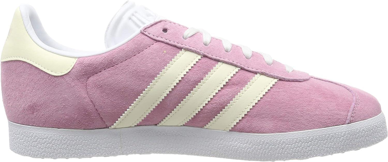 adidas Gazelle W, Zapatillas de Gimnasia para Mujer Rosa True Pink Ecru Tint S18 Ftwr White True Pink Ecru Tint S18 Ftwr White
