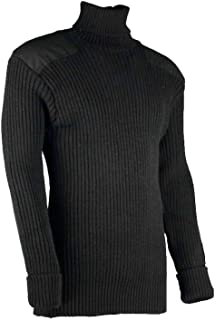 woolly pully roll neck