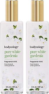 Bodycology Pure White Gardenia 8 fl.oz. Fragrance Mist Spray For Women (Pack of 2) Bodycology