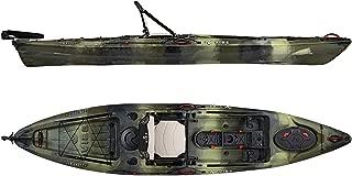 Vibe Kayaks Sea Ghost 130 13 Foot Angler Sit On Top Fishing Kayak (Hunter Camo) with Adjustable Hero Comfort Seat
