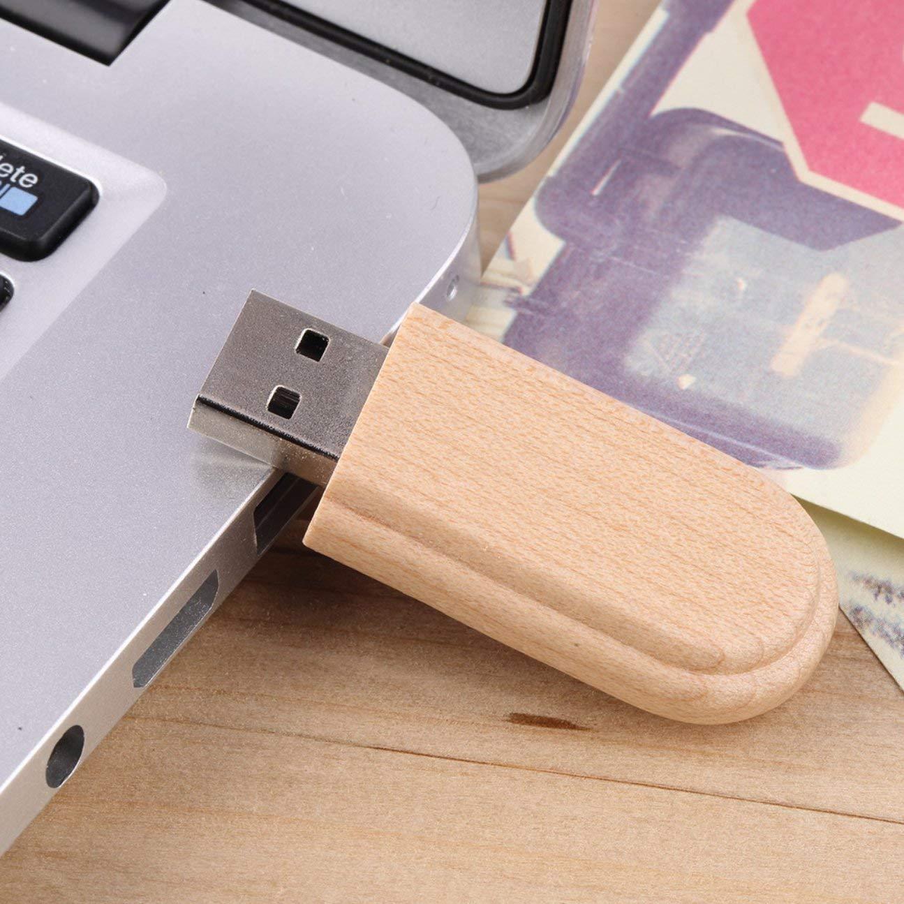 Caja de Madera USB 2.0 Memoria Flash Stick Pen Drive Unidad de ...