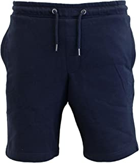 Brave Soul Mens Tarley Fleece Lined Jersey Knee Length Summer Sweat Jog Shorts