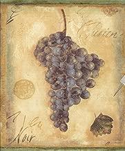 French Wine Grapes Wallpaper Border