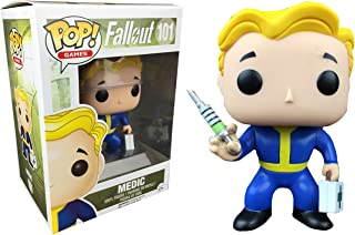 Funko POP. Games Fallout Vault Boy Medic # 101(Tema caliente Mystery Exclusivo)