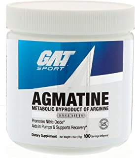 GAT Sport Agmatine Nutritional Supplement, 100 Servings