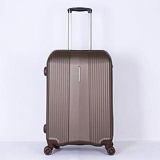Titan Hard Case Luggage, Brown - 010589