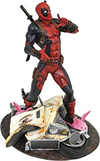 DIAMOND SELECT TOYS Marvel Gallery: Taco Truck Deadpool PVC Diorama Figure