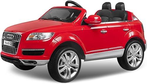 AUDI Q7 Luxus Kinder Elektro Akku Quad Offroad elektrisch ATV Gel ewagen Cross Dirt Pit Bike 2x 35W 12V FERNSTEUERUNG