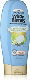 Garnier Whole Blends Conditioner with Coconut Water & Vanilla Milk Extracts, 22 fl. oz.