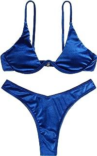 Best velvet blue bikini Reviews