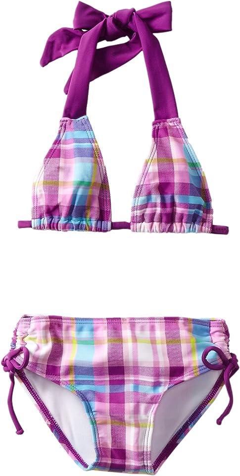 Little Girls' Hilo Swimsuit - Purple - 4T