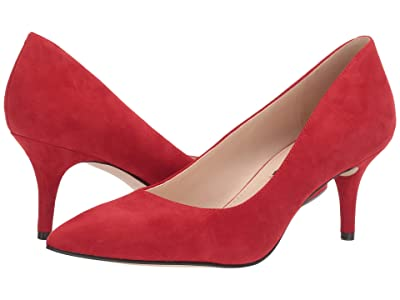 Nine West Margie Pump (Fiery Red) Women