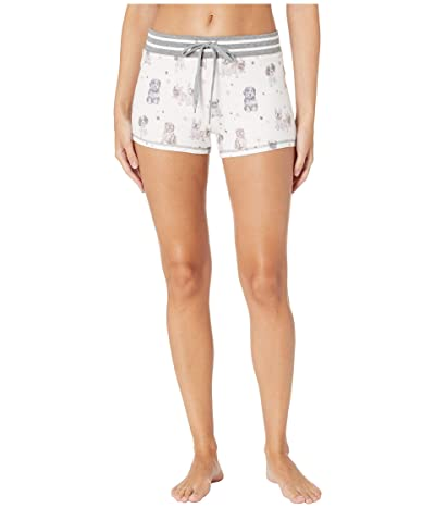 P.J. Salvage Pawfection Shorts (Ivory) Women