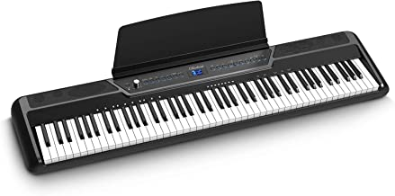 Douliemi Weighted Digital Piano with Bluetooth, 88 Key Full