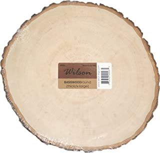 Wilson Basswood Round Thick- Extra Large (11