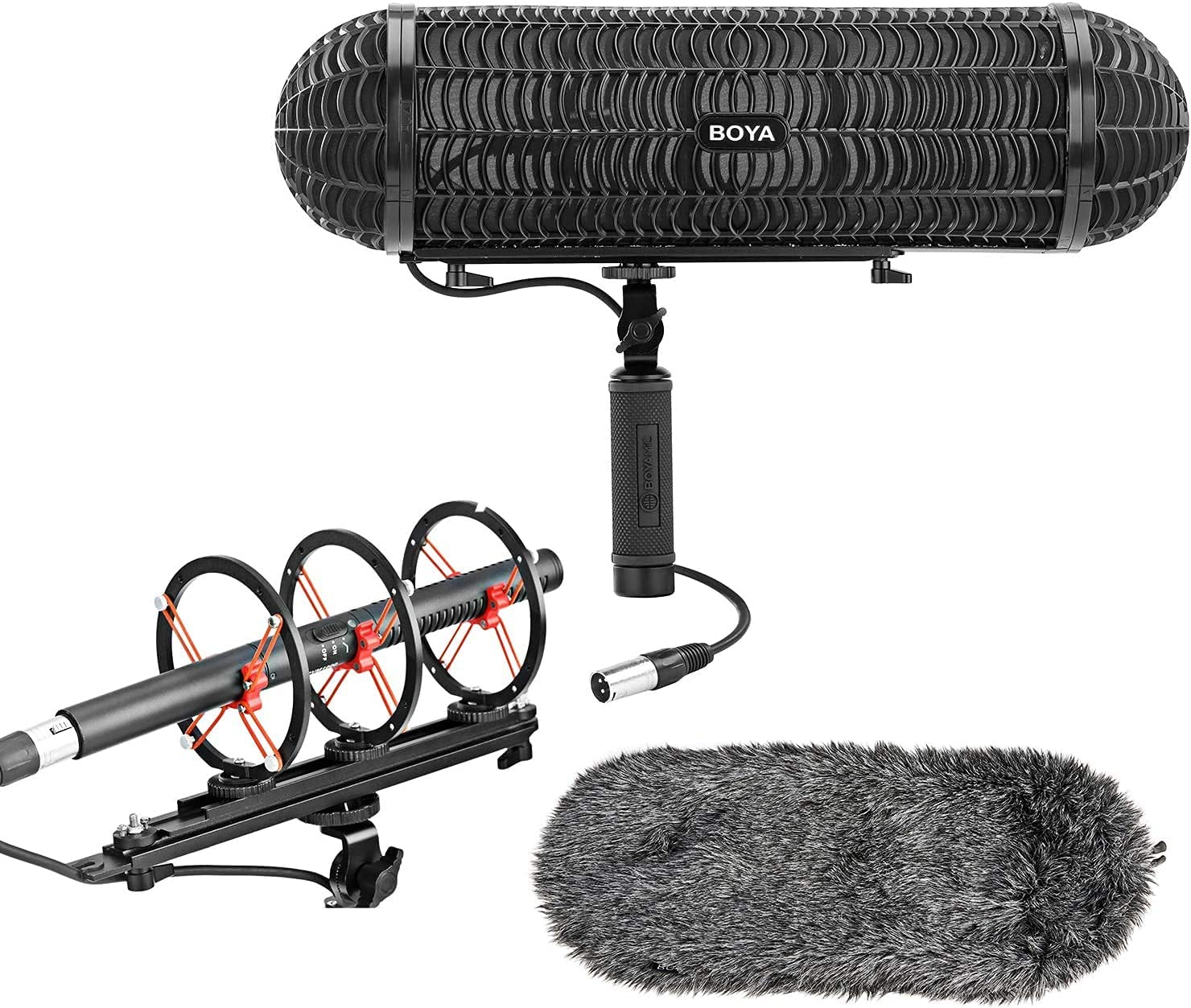 BOYA BY-WS1000 Blimp Microphone Windshield Mount Max 77% OFF 2021 autumn and winter new P and Vibration