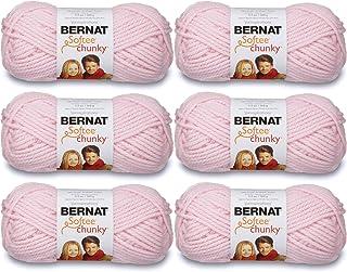 Bernat Softee Chunky Yarn (6-Pack) Baby Pink 161128-28418