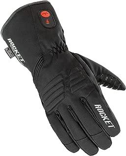 HJC Rocket Burner Men's Heated Cold Weather Gloves (Black, Large)
