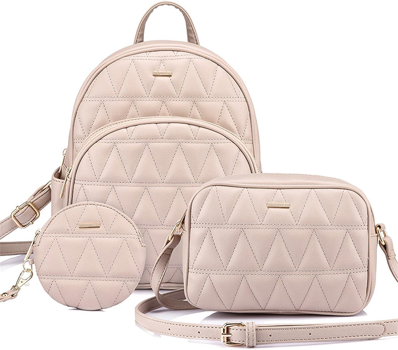 Cheryl Bull Fashion women backpack schoolbag for girls teenagers backpack female shoulder crossbody bag purse for coins 3 set