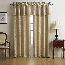 نافذة العلامة التجارية MARQUIS باي WaterFORD Isabella ، ذهبي WINDOW VALANCE CNISBLW71005018