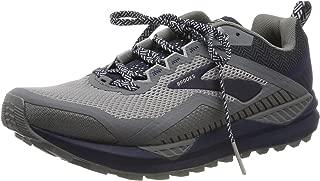 Brooks Men's Race Running Shoe, Poseidon Orange Grey, US:6.5
