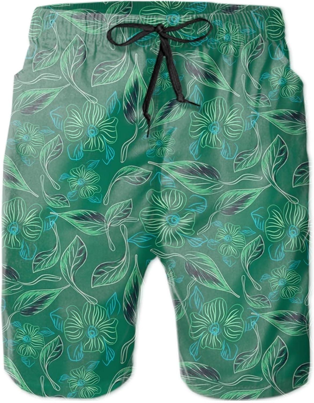 HHNYL Intertwined Rope Swim Trunks Board Shorts Quick Dry Beachwear Bathing Suits Men