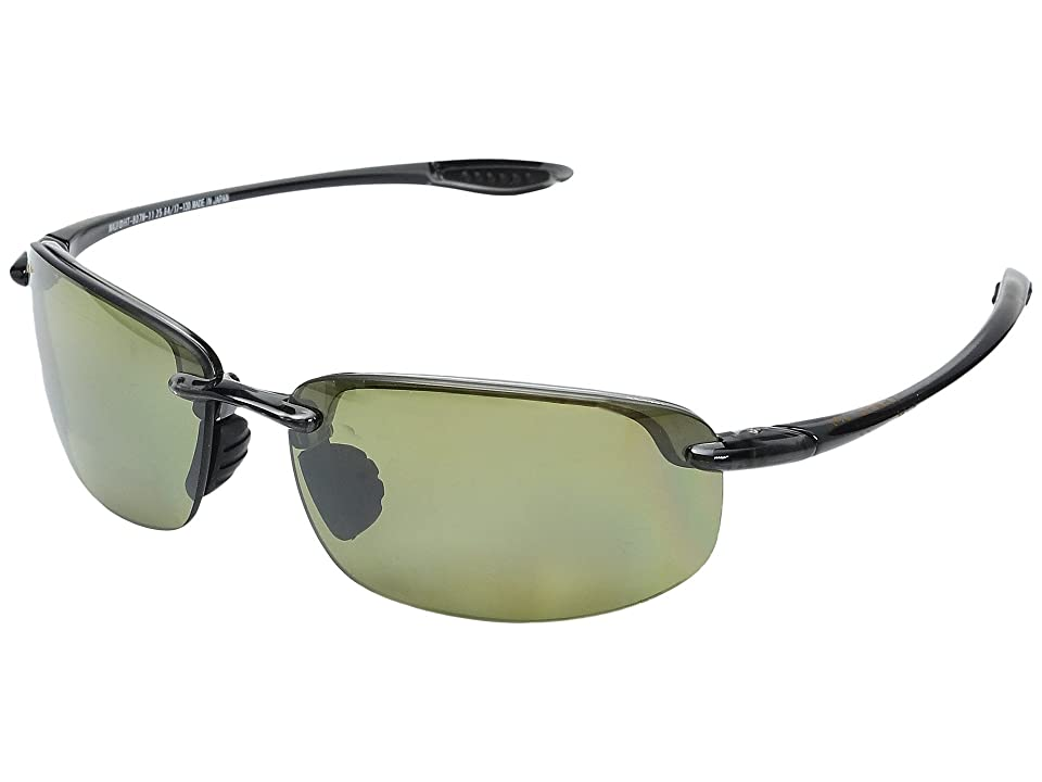 Maui Jim Hookipa Reader Universal Fit 2.50 (Smoke Grey/Maui HT) Sport Sunglasses