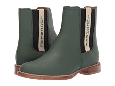 Lucchese All-Weather Waterproof Garden Boot (Military Green) Women
