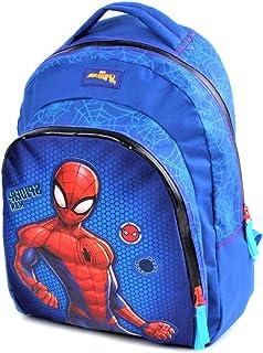 Marvel Spider-Man - Mochila infantil, diseño de Spiderman, color azul