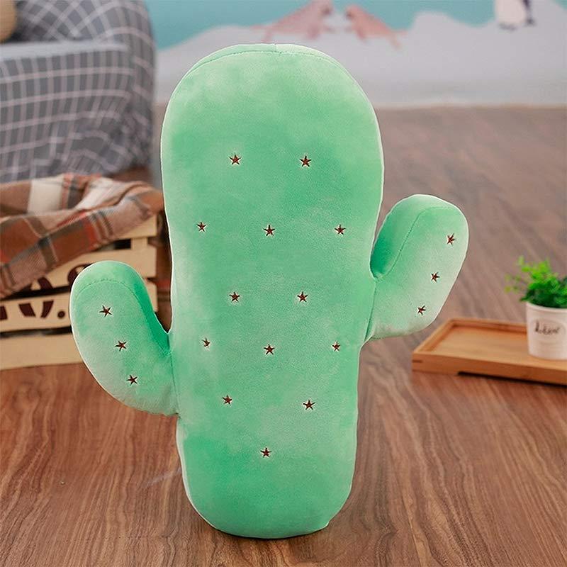 Studyset 45cm Plush Cactus Stuffed Toy Doll Sofa Throw Pillow Cushion Lovely Home Decor Kids Baby Gift