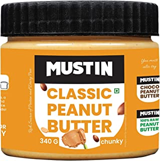 Mustin Classic Peanut Butter Chunky (340)
