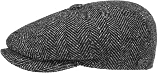 Lierys Coppola a Spina di Pesce Uomo - Made in Italy Cappellino Invernale Berretti da Berretto Lana con Visiera, Fodera Es...