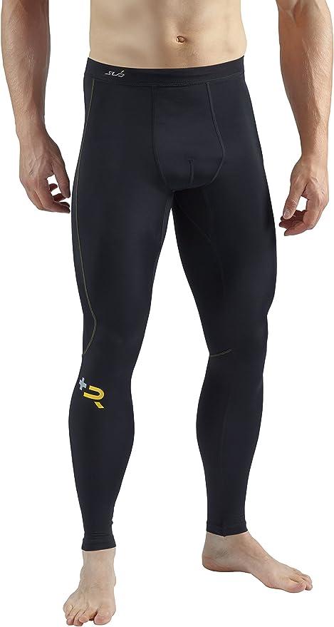 FANSHONN Mens Compression Pants Baselayer Sports Training Bodybuilding Workout Fitness Ankle Leggings Active Tights