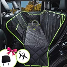 petalage Dog Seat Cover for Back Seat 100% Waterproof Dog Car Seat Covers with Mesh Window Car Seat Covers for Dogs Dog Backseat Cover for Cars Trucks SUV(HYSC2)
