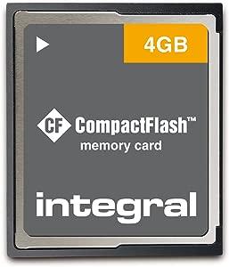 Integral Memory INCF4GV2  CompactFlash Memory Card green Green...
