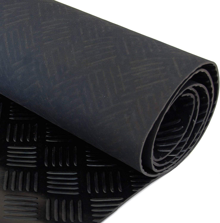 Gummi Bodenbelag mit Noppen 3 mm St/ärke 5/Gr/ö/ßen zur Auswahl