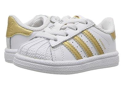 adidas Originals Kids Superstar (Toddler) (Gold) Kids Shoes
