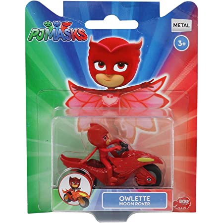 Pj Masks Single Pack Diecast Owlette Moon Rover Vehicle Toy for Kids, Age 3 to 8 Years
