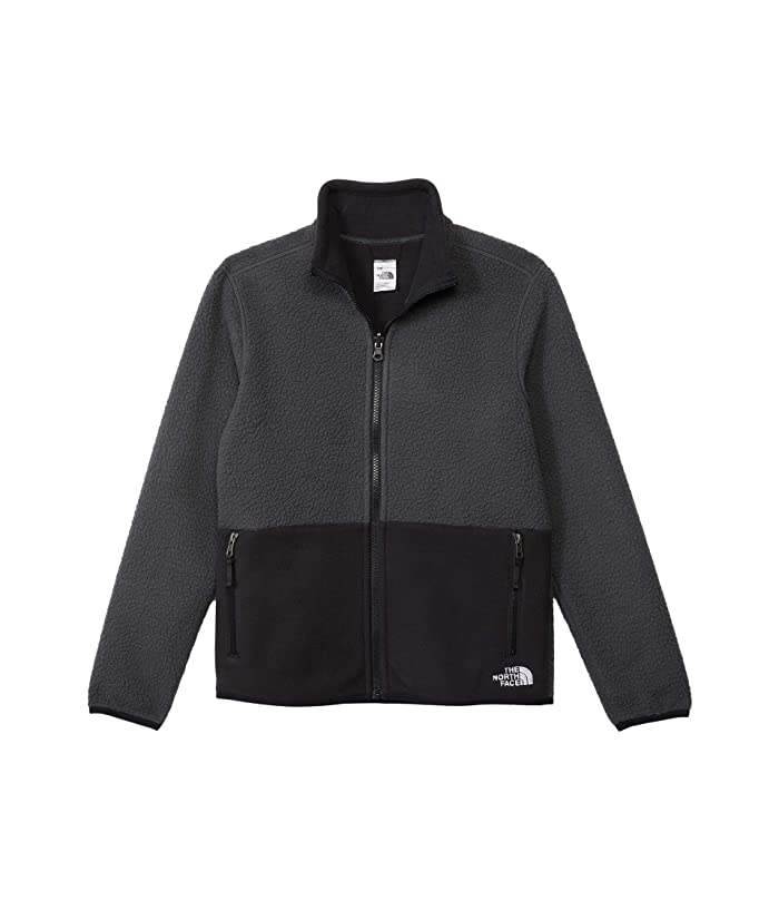 Reversible Sherpalito Jacket (Little Kids/Big Kids) Asphalt Grey