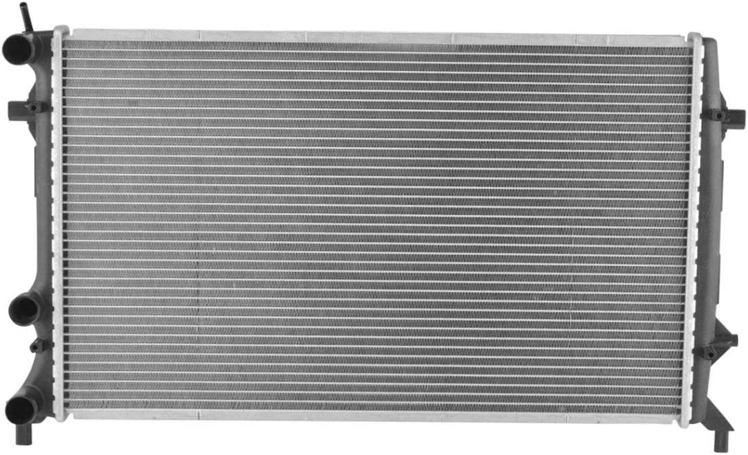 Radiator Assembly Plastic Tanks Aluminum Fit VW Direct for Core OFFicial site Max 41% OFF