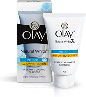 Olay Natural White 7 in One Instant With UV Protection Instant Glowing Fairness 40g
