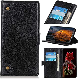 zl one Compatible with/Replacement for Phone Case LG K20 2019 PU Leather Card Slots Wallet Case Flip Cover (Black)