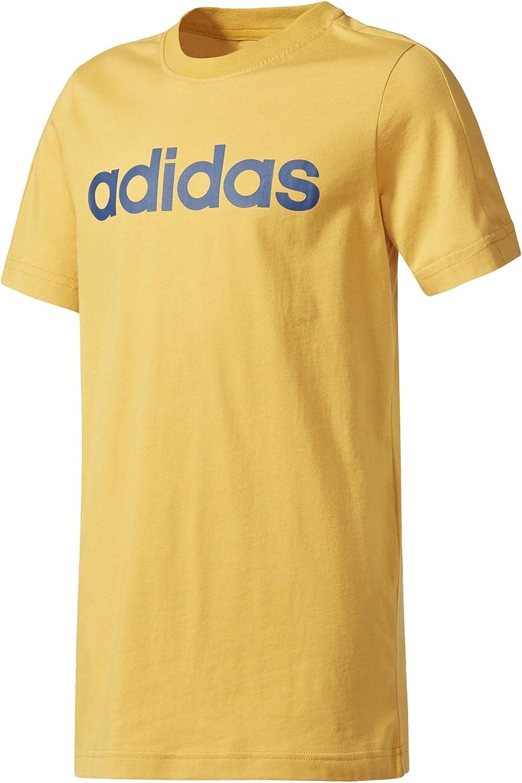 adidas Kids Young Boys Tshirt Performance Linear Tee Training Mo