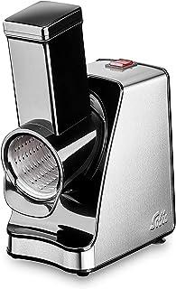 Solis Slice & More 8401 - Cortador de verduras - Rallador eléctrico para cortar, rallar, raspar y moler - Acero inoxidable - 350W