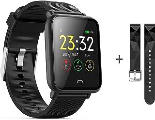 kkcite Bluetooth Smart Watches, Waterproof Fitness Tracker S