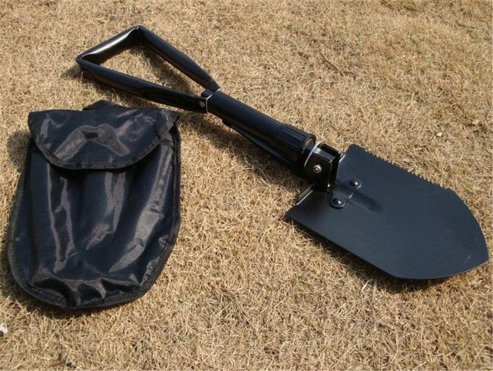 Multitool Outdoor Equipment Shovel Function Collapsible Camping Shovel Folding