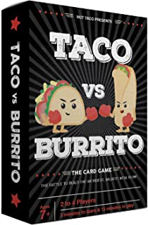 Taco vs Burrito - The Wildly Popular Surprisingly Strategic Card Game Created by a 7 Year Old - A Perfect Family-Friendly ...