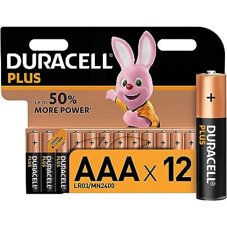 Duracell Plus Aaa Micro Alkaline Batterien Lr03 12er Elektronik